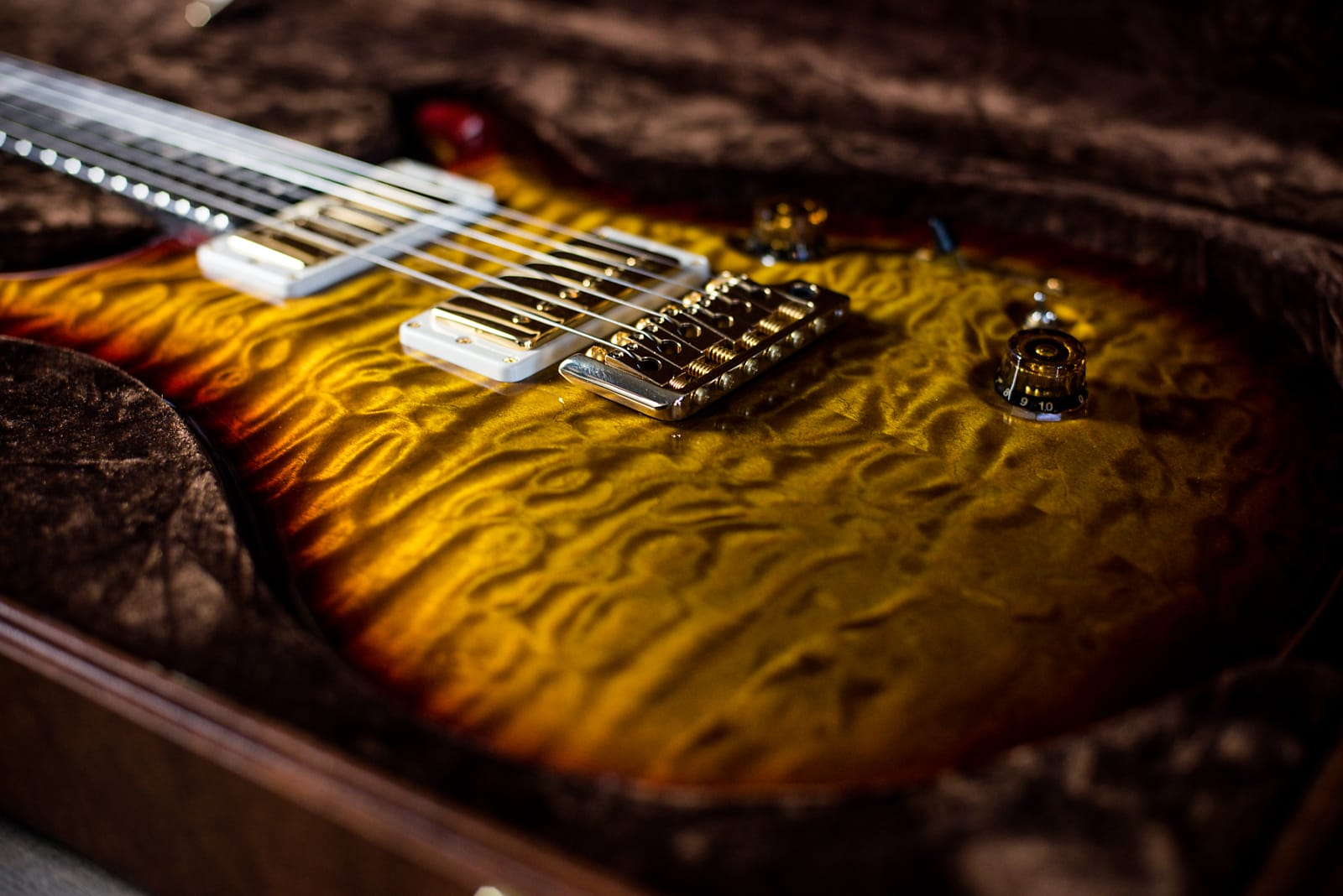 PRS 1 of 1 Private Stock 24/08 Semi Hollow Brazilian Rosewood Neck & Fingerboard, 14kt Gold Inlays