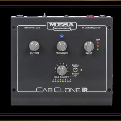 Mesa Boogie CabClone IR Load Box with IR Cabinet Simulations 8 Ohm