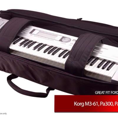 Gator Cases Keyboard Gig Bag for Korg M3-61, Pa300, Pa4X-61, X3