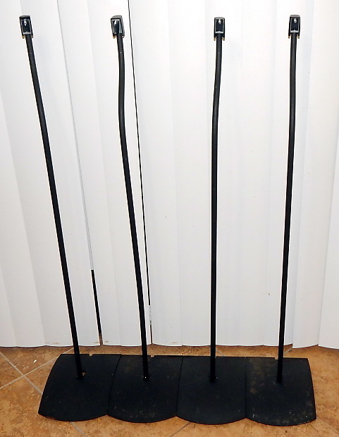 BOSE UFS20 Series II Speaker Stands Set Of 4 Complete