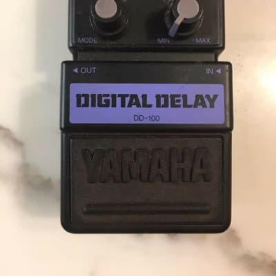 Yamaha DD-100 Digital Delay Rare Vintage Guitar Effect Pedal MIJ Japan