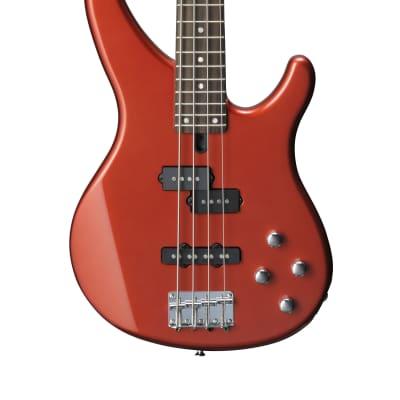 Yamaha TRBX204 Bass Bright Red Metallic for sale