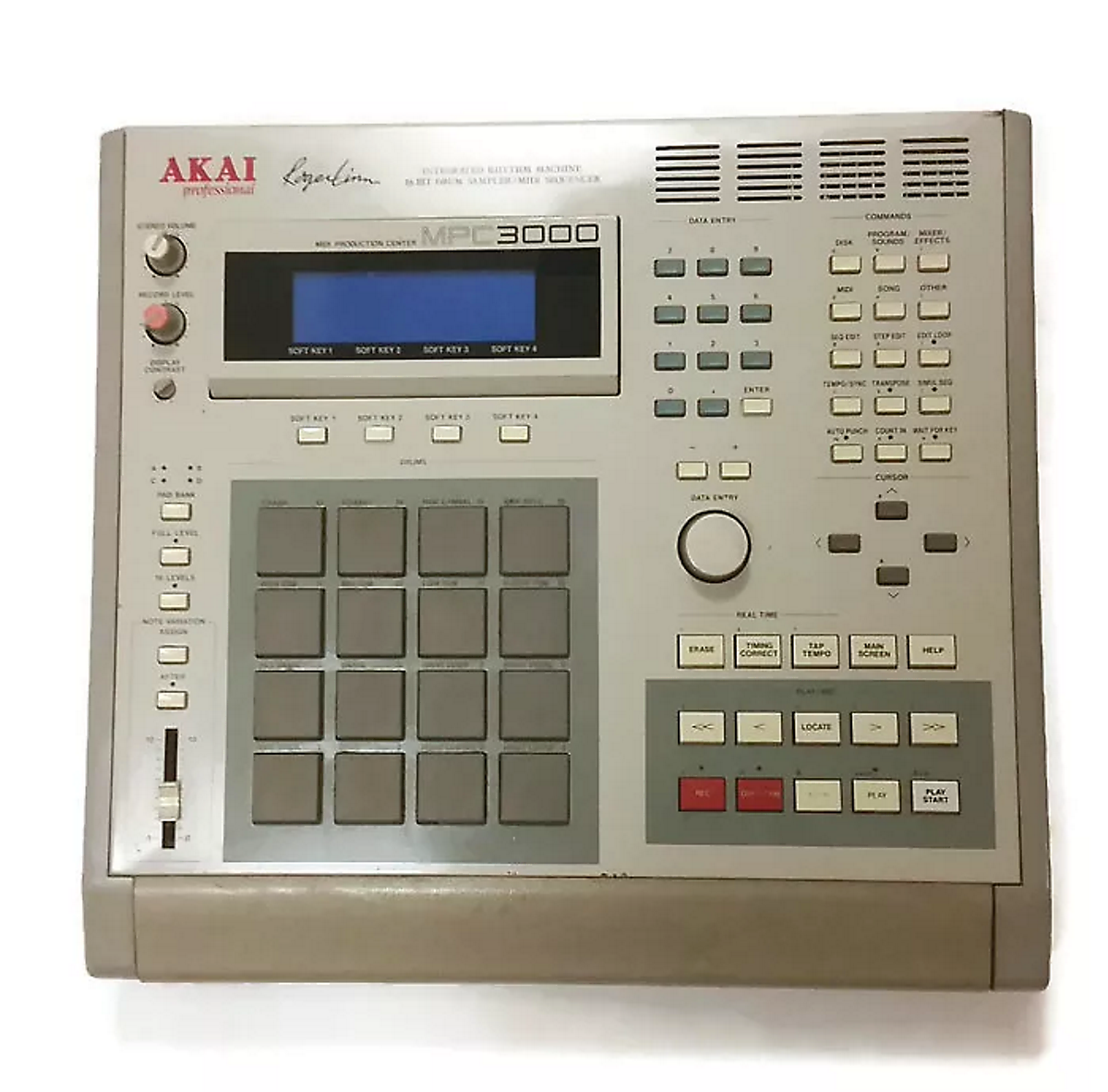 Dilla's weapon of choice, the MPC3000