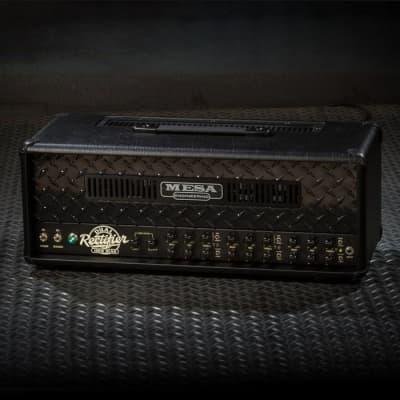 MESA/Boogie Dual Rectifier Multi-Watt Head - Custom Blackout - Dual Rectifier Multi Watt Black Out
