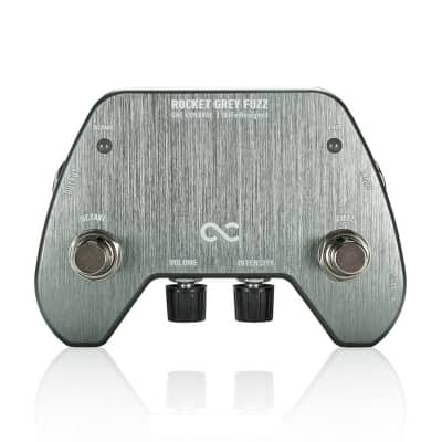 One Control BJFe Series FX Rocket Grey Octave Fuzz Guitar Effects Pedal for sale