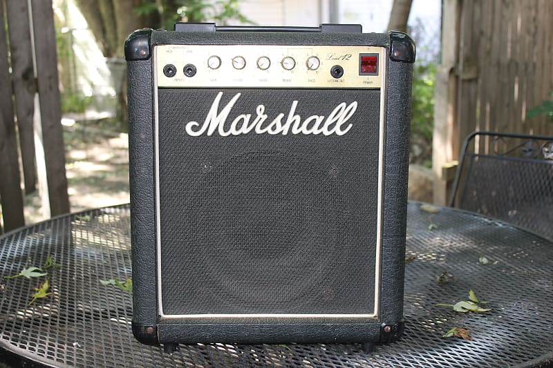 marshall lead 12 combo amp model 5005 amazing little amp in reverb. Black Bedroom Furniture Sets. Home Design Ideas