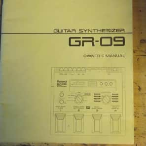 Roland GR-09 PARTS - Original owner's manual