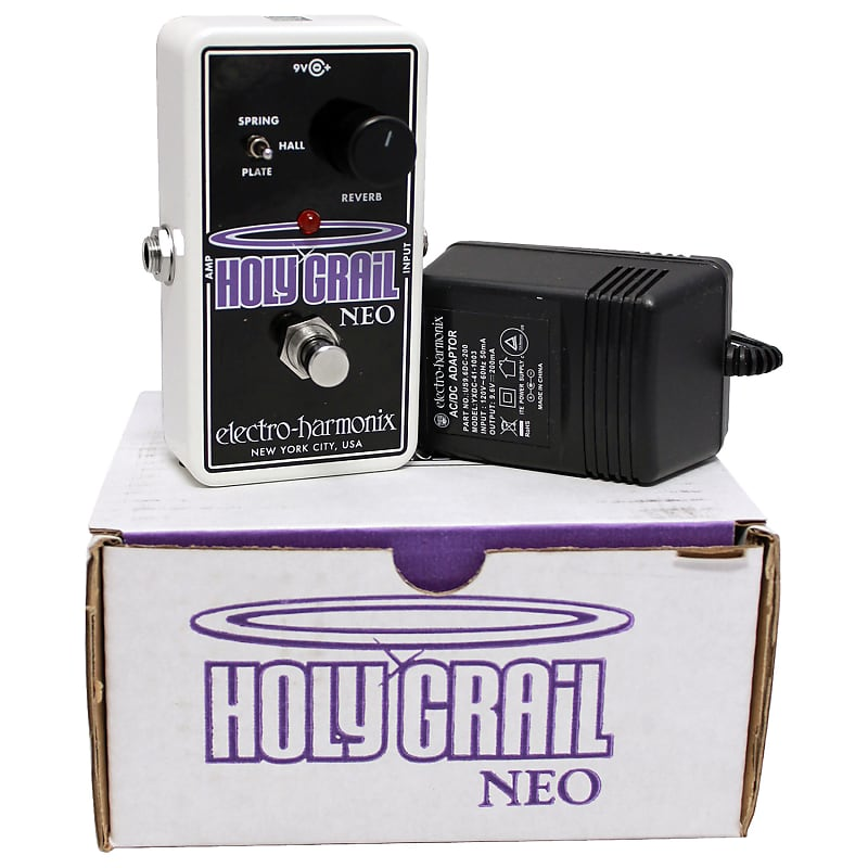 electro harmonix holy grail neo effects pedal w power supply reverb. Black Bedroom Furniture Sets. Home Design Ideas