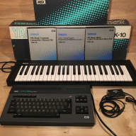 Yamaha CX5M FM computer synthesizer and DX7 editor
