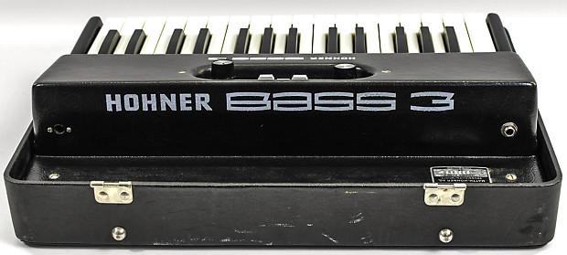 Hohner bass 3 vintage bass organ reverb for Classic house organ bass