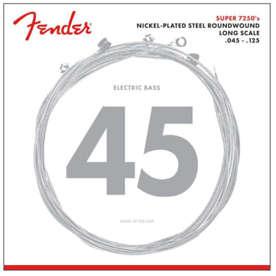 Fender 7250-5M Pure Nickel Round Wound Medium 45-125