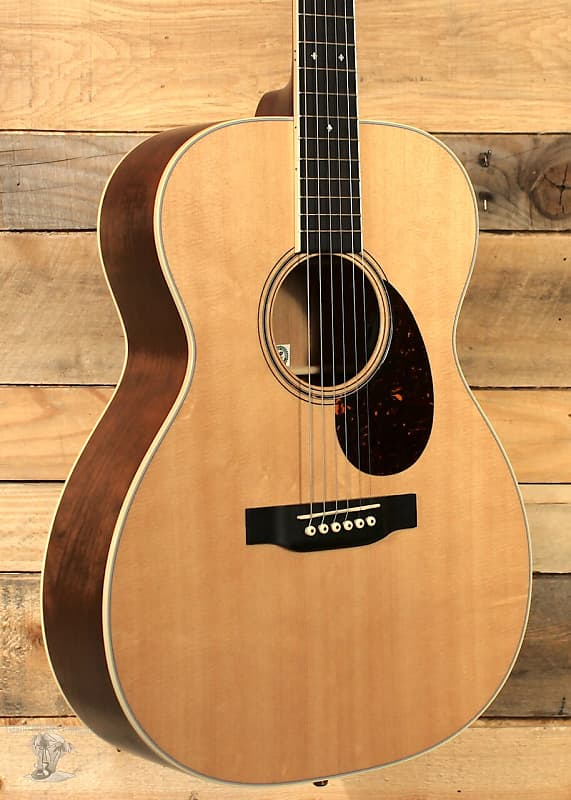martin ome cherry acoustic acoustic electric guitar w case reverb. Black Bedroom Furniture Sets. Home Design Ideas