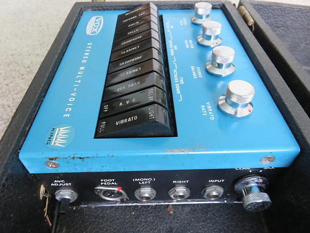 vintage 1967 vox stereo multi voice rare odd ball guitar reverb. Black Bedroom Furniture Sets. Home Design Ideas