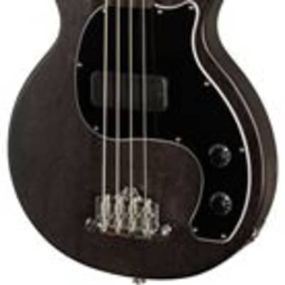 Gibson Les Paul Junior Tribute DC Bass Worn Ebony with Gig Bag