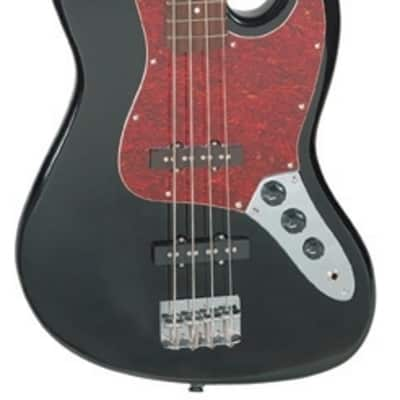 Jay Turser JTB-402-BK Series Maple Neck 4-String Electric Bass Guitar - Black for sale