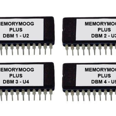 Moog MemoryMoog Plus OS Version DBM Firmware Update Upgrade Memory Moog