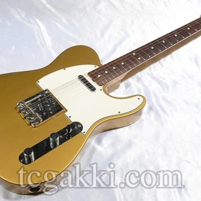 Fender Custom Shop 2009 TBC 1963 Teleaster NOS HLE Gold for sale