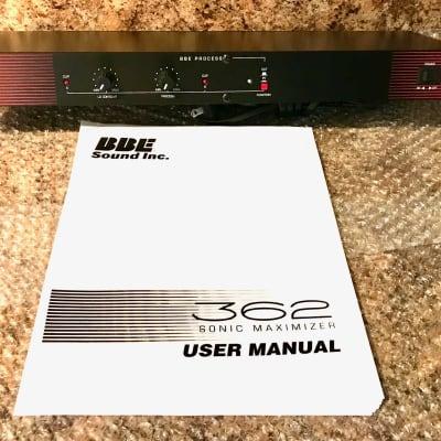 BBE 362 Sonic Maximizer - (FREE SHIPPING)