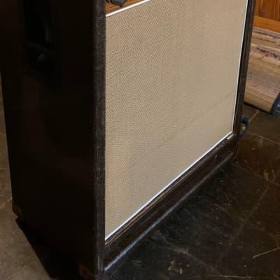 Black Market Custom 6X12 Bass Cabinet 2015 Brown Cowboy Tolex