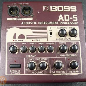 Boss AD-5 Acoustic Instrument Processor