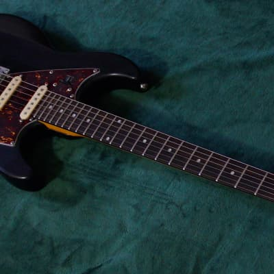 Line 6 JTV-69 James Tyler Variax Modeling Electric Guitar Black custom vintage modded for sale