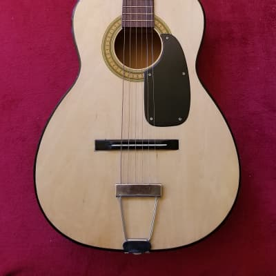 NorMa FG-10 Acoustic Parlor Guitar MIJ 60s Natural for sale