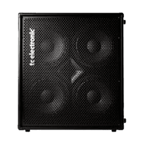 """TC Electronic BC410 Vertical Stacking 4x10"""" 500w Bass Cab"""