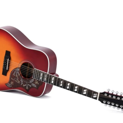 12-saitige Western-Gitarre Sigma DM12-SG 5 mit Pickup for sale