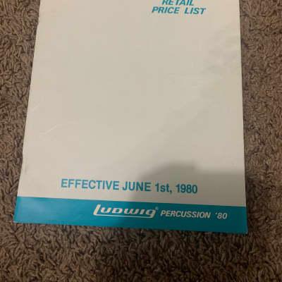 Ludwig 1980 Price List