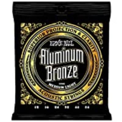 Ernie Ball Aluminum Bronze Medium - Light