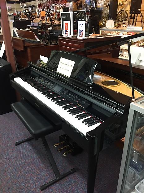 Suzuki MDG-300 Black Micro Grand Digital Piano New Great Feel $100 Delivery  USA!