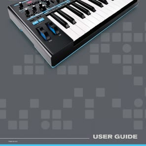 Novation Bass Station II User Guides