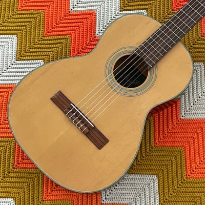 Angelica A-102 - Road Trip Guitar! - Great Smaller Bodied Classical! - Made in Japan ! - for sale