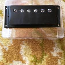 Rare Gibson black mini humbucker Pat no. 1973 7k long lead