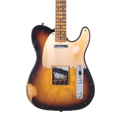 Fender Fender Custom Shop John Cruz Masterbuilt 50's Telecaster Relic - 3 Color Sunburst  2011 Sunburst for sale