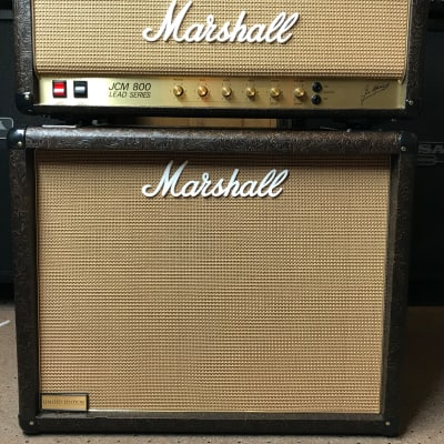 2013 Marshall 2203 Limited edition JCM 800  Western w/ 1936 2x12 Matching Cab (Only 50 made for USA) for sale
