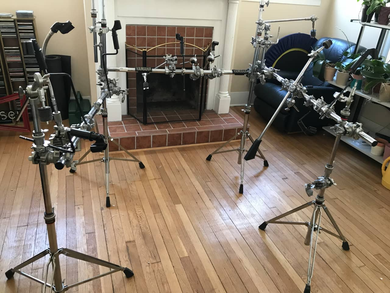 Yamaha drum rack and extras randall 39 s reverb for Yamaha lexington ky