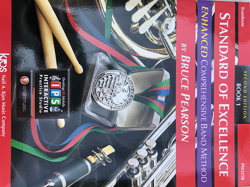 pw21tb standard of excellence enhanced book 1 trombone
