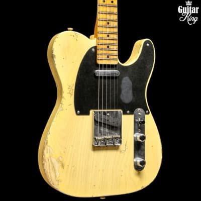 Fender Custom Shop 51 Nocaster Heavy Relic LTD Faded Nocaster Blonde for sale