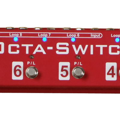 Carl Martin Octa-Switch The Strip - guitar pedalboard switching system NEW model ! for sale