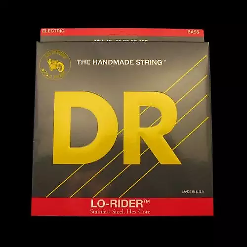 DR MH-45 Lo-Rider BASS Guitar Strings gauges 45-105