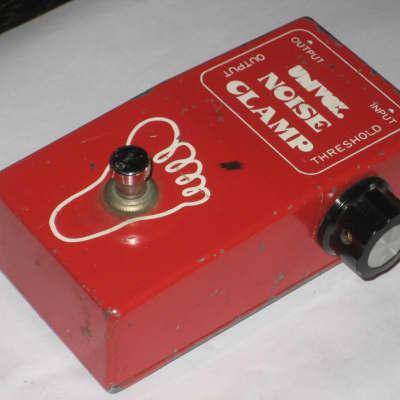 Univox Noise Clamp, Vintage MIJ Guitar Effect Pedal Noise Suppressor Gate