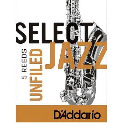 D'Addario Select Jazz Tenor Sax Reeds 2S unfiled, box of 5