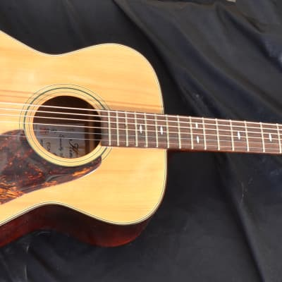 70s Kimbara Acoustic Guitar OM Made in Japan FCN for sale