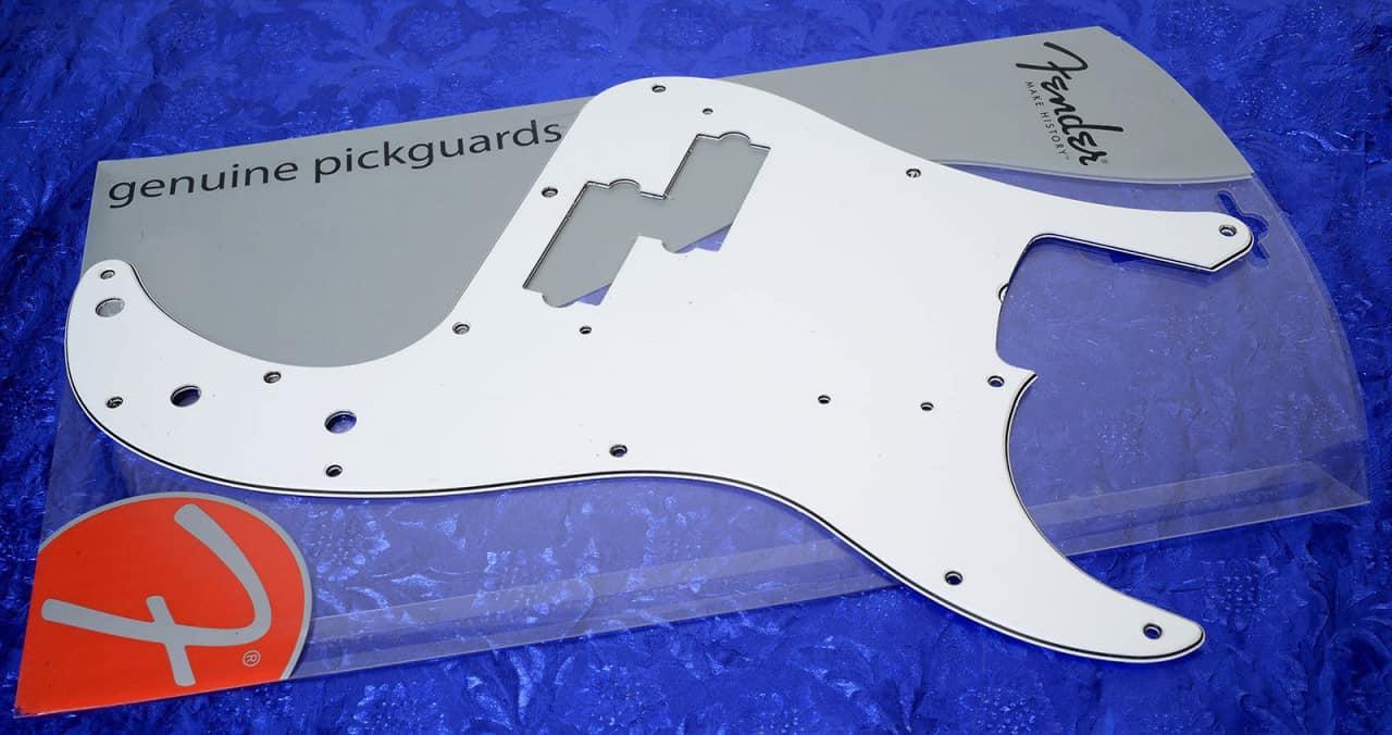 Genuine Fender 174 62 Precision P Bass White Three Ply Reverb