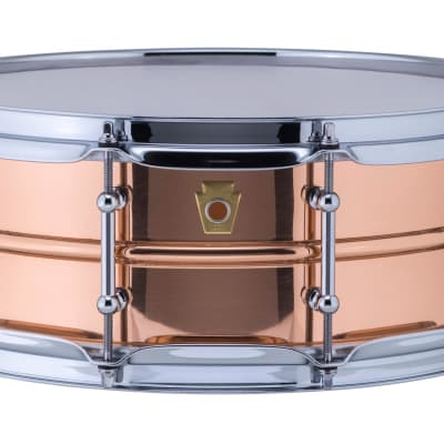 """Ludwig 5 x 14"""" Copperphonic Smooth Shell with Tube Lugs - LC660T"""