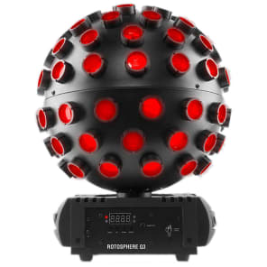 Chauvet Rotosphere Q3 LED Mirror Ball Effects Light