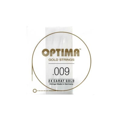 Optima Gold Strings 009 Plain Single