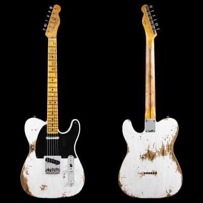 Fender Custom Shop 52 Tele Heavy Relic, Lark Guitars Custom Run - White Blonde (036) for sale