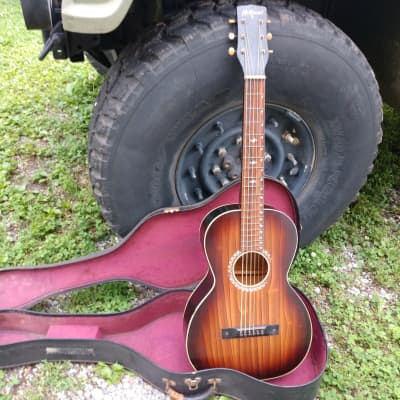 McKinney Lap Steel Hawaiian Parlor Acoustic Square Neck Late 30's Early 40's Sunburst for sale